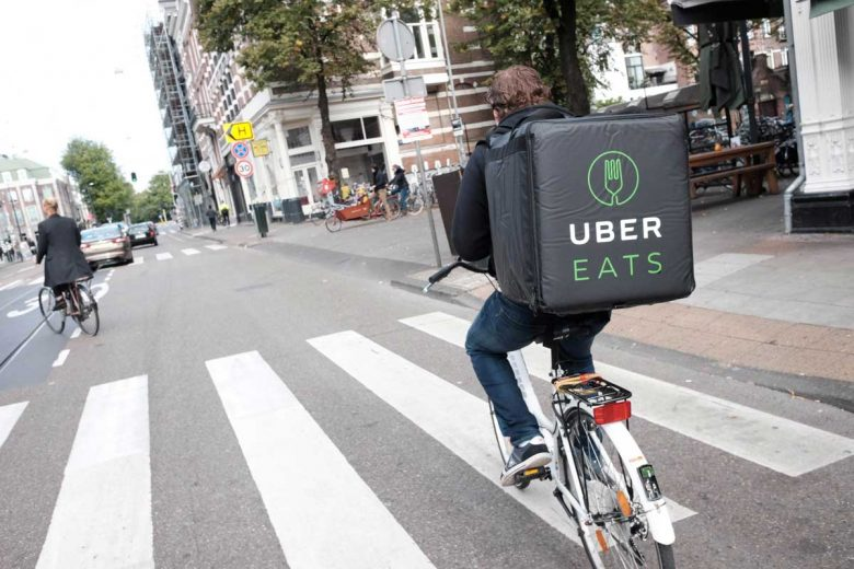 Uber eats driver support canada