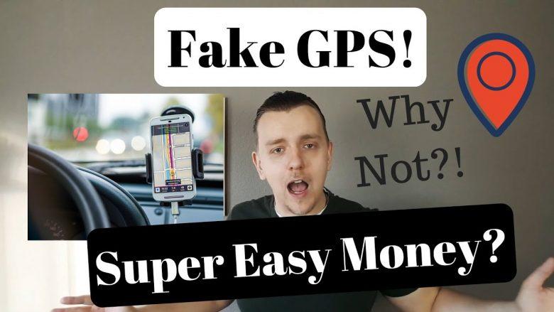 Using Fake GPS for UBER or Lyft.