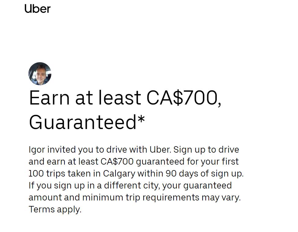 Earn at least CA$700, Guaranteed*