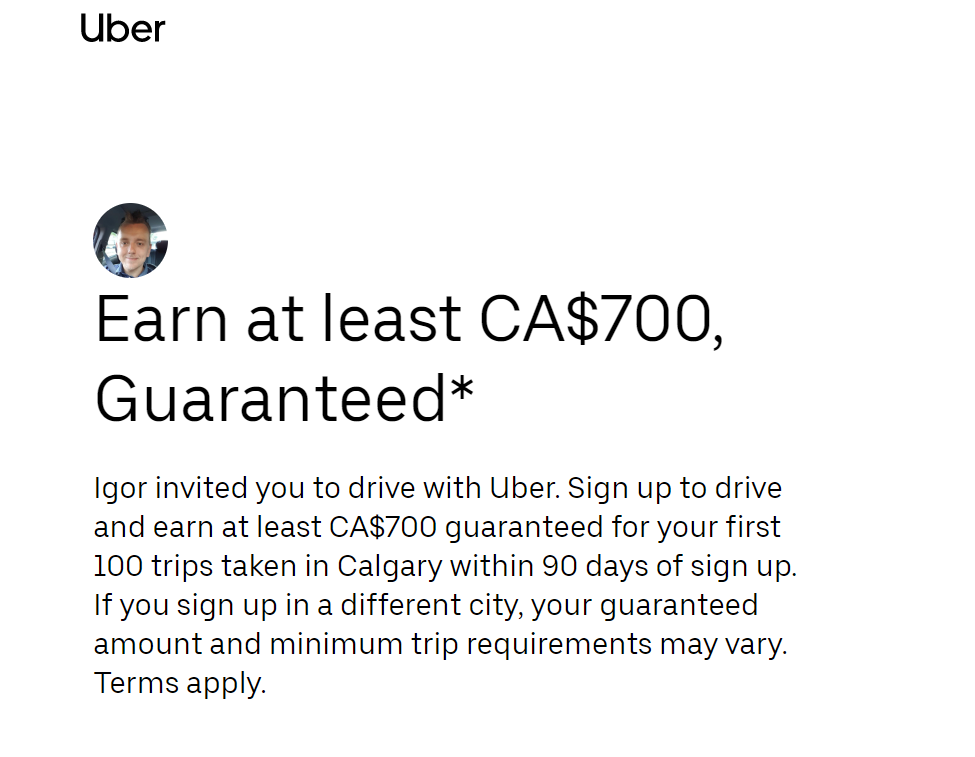 Earn at least CA$700, Guaranteed*