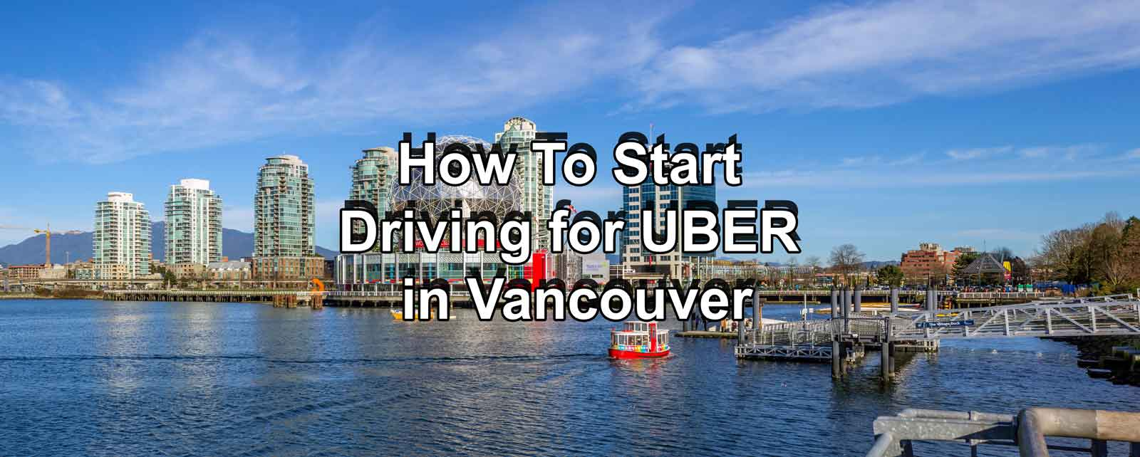 How To Start Driving for UBER in Vancouver - Igor Ryltsev
